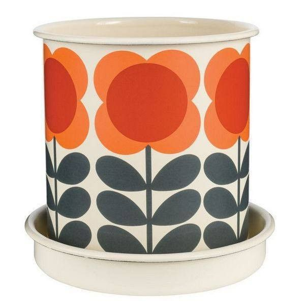 Orla Kiely Large Plant Pot Big Spot Flower  #cool #presents #gift #cheap #quirky #birthday #shopping #gifts #sale #mzube   https://www.mzube.co.uk