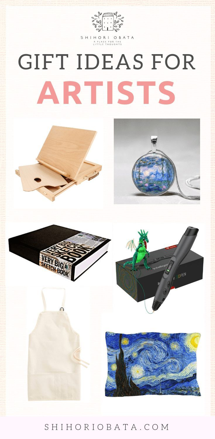 Perfect Gift Ideas For The Artist In Your Life Gifts For An