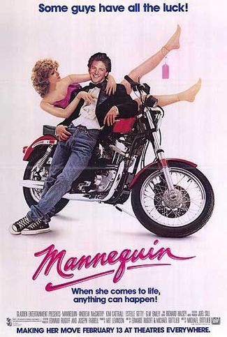 Mannequin was released on February 13, 1987, just in time for Valentine's Day!  Who wouldn't want to spend V-Day with Andrew McCarthy!   http://www.liketotally80s.com/2015/02/valentines-day-1987/