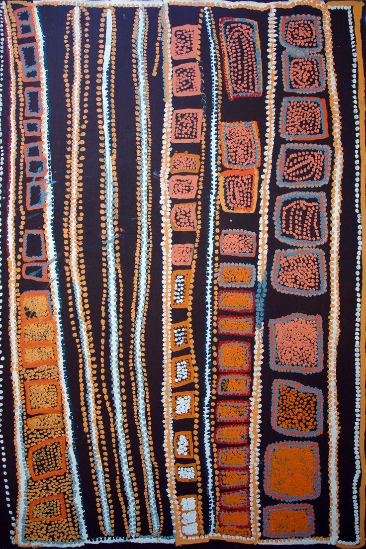 Pinkalarta by Alma Webou (Kalaju) 167cm x 111cm