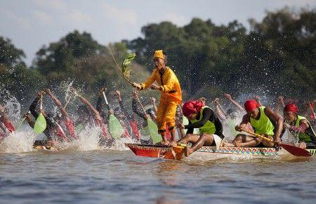 Pacu Jalur festival of Riau