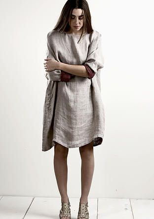 evassunday | lume slouch dress $169