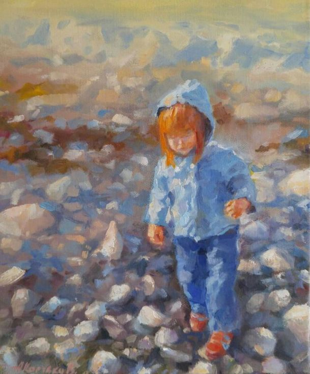 Buy Not an easy walk to the water during the low tide (10x12''), Oil painting by Alexander Koltakov on Artfinder. Discover thousands of other original paintings, prints, sculptures and photography from independent artists.
