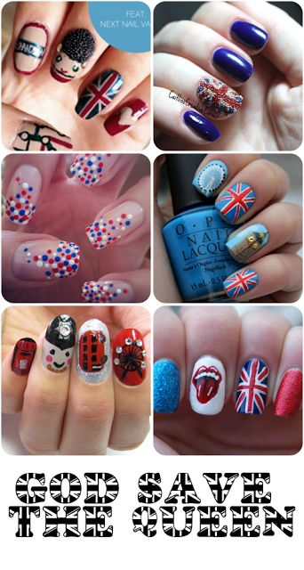 Le blog de Mademoiselle Emma: Nailstorming #14 SuperNails. London nail art.