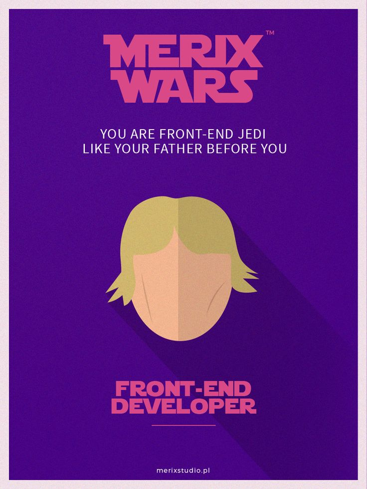 Our recruitment campaign based on #starwars Join our team as #Frontend #LukeSkywalker #job http://www.merixstudio.com/wars/