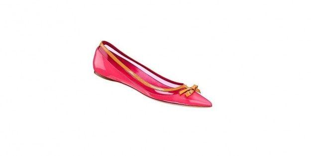 Christian Dior, ballerine rosse
