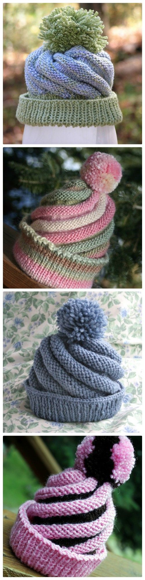 This Swirled Ski Cap Free Knitting Pattern is a stylish addition to your winter wardrobe. Check out all the ideas and watch the video too.