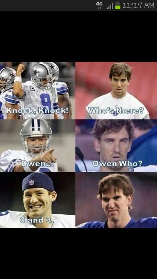 #Football #Cowboys #Romo #Giants #Manning