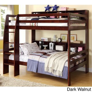 Furniture of America Renaive Modern Twin over Twin Bunk Bed | Overstock™ Shopping - Great Deals on Furniture of America Kids' Beds  ----- LOVE THIS BED