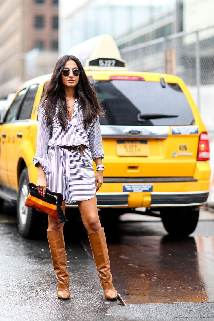 All the Best Street Style Outfits from Fall 2015 New York Fashion Week | StyleCaster