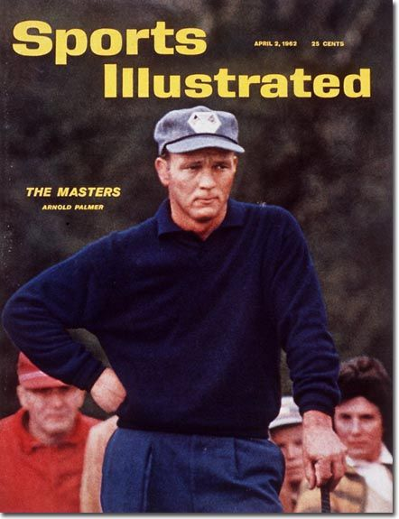 Arnold Palmer Sports Illustrated cover, 1962