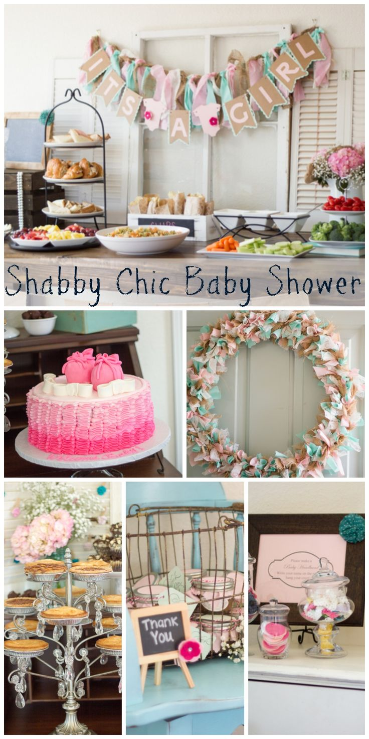 great shabby chic baby shower ideas see more party ideas at