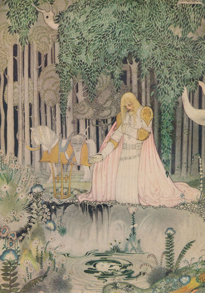 Kay Nielsen East of the Sun & West of the Moon 25 Tipped-In Color Illustrations