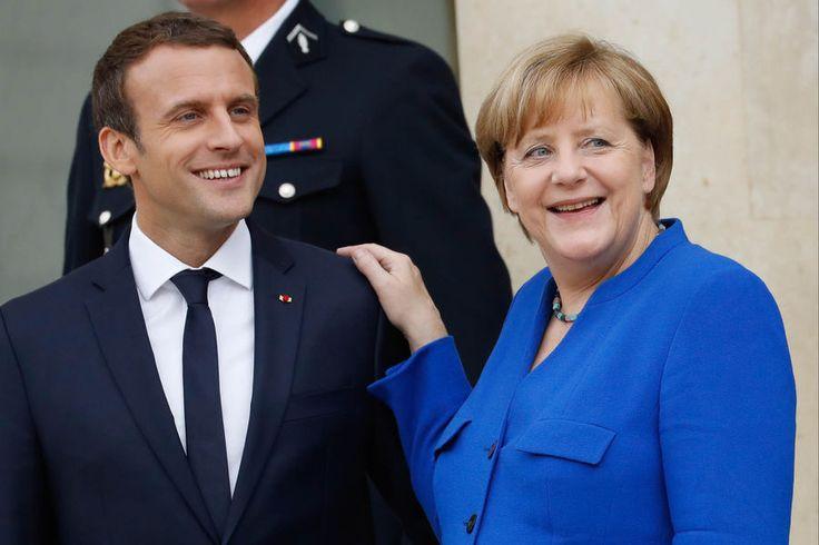 Journée chargée pour le président de la République. Emmanuel Macron a reçu la Chancelière allemande Angela Merkel à l'Elysée pour un Conseil des minis...