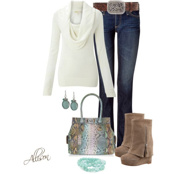 Love this.. but with brown Cowgirl boots!