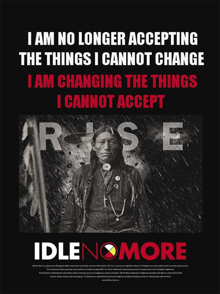 25% Off through Wednesday 10/9/13! Poster - Idle No More