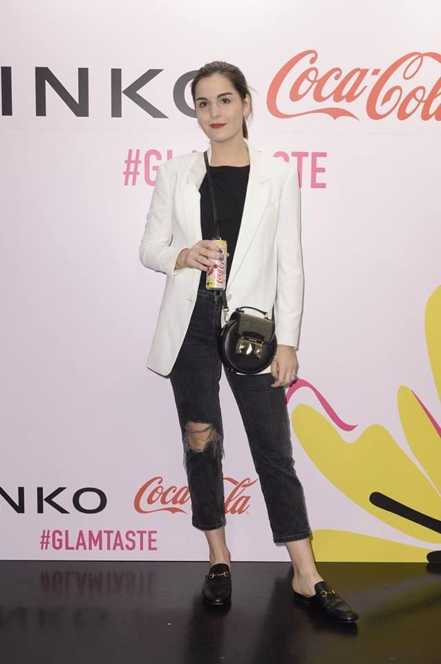 Irene Buffa at PINKO and Coca-Cola light #GlamTaste event