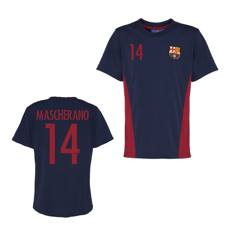 Official Barcelona Training T-Shirt (Navy) (Mascherano) #Sport #Football #Rugby #IceHockey