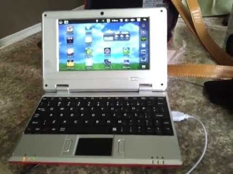 """Wolvol 7"""" Netbook with Camera Startup/Overview Last Part(4) for more views www.wolvol.com"""