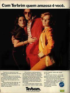 anúncio tecido terbrim da rhodia de 1974