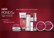 Ponds skin care products