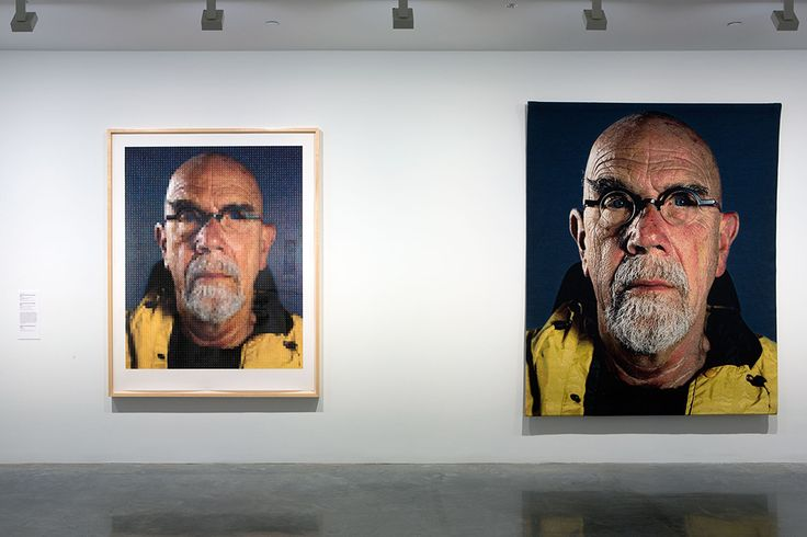 Christopher Hodges on Chuck Close
