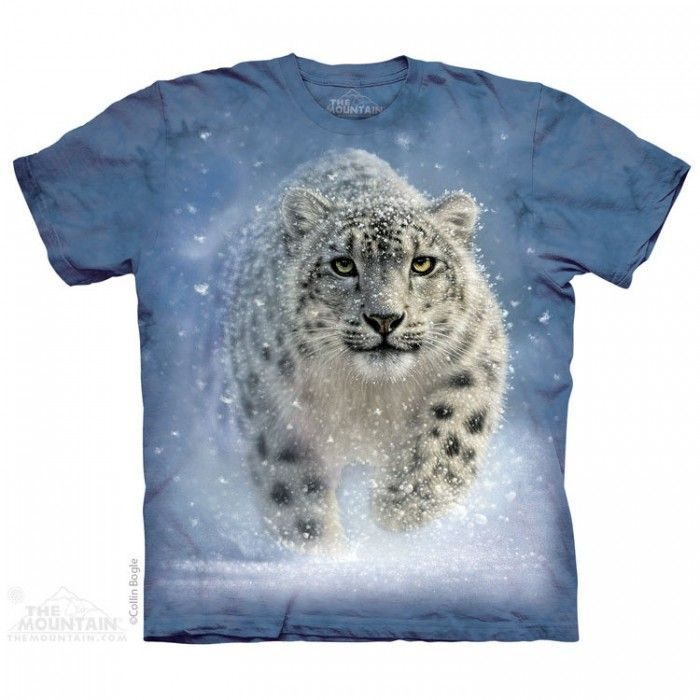 Tricou The Mountain - Cadou conservat Snow Ghost