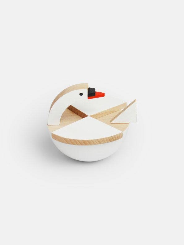 Czech wooden toys by Kutulu at Moon Picnic | Beautiful handmade wooden animal toys, czech design, modernist design for kids, made in europe