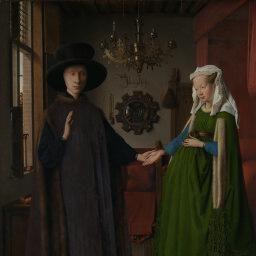 Jan van Eyck | The Arnolfini Portrait | NG186 | National Gallery, London