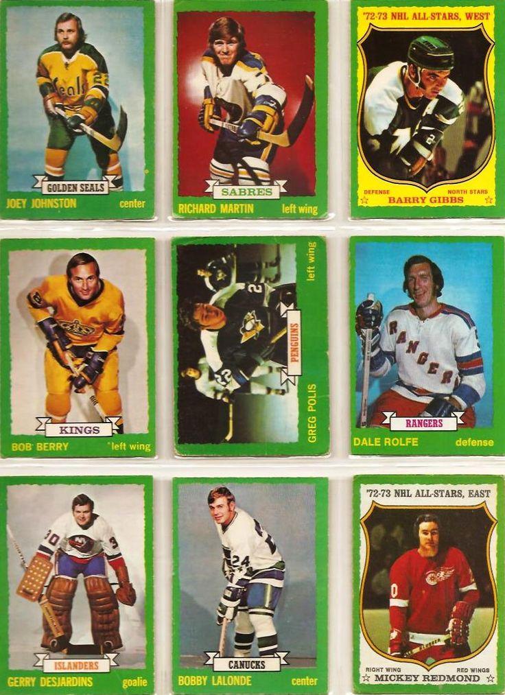 172-180 Joey Johnston, Richard Martin, Barry Gibbs, Bob Berry Greg Polis, Dale Rolfe, Gerry Desjardins, Bobby Lalonde, Mickey Redmond