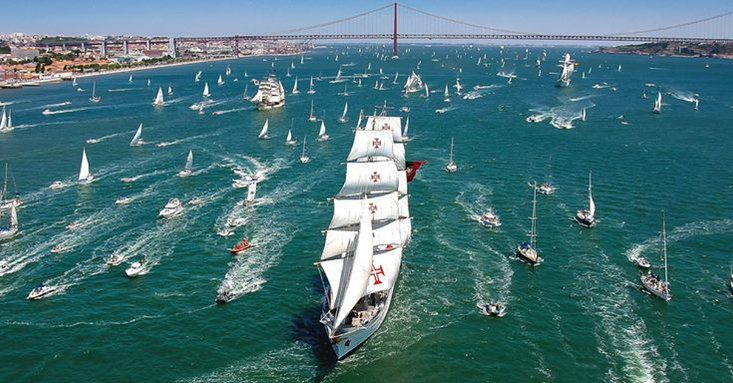 The Tall Ships Races Lisboa 2016 | The Giants of the Sea are here. Visit the Village and step on board the Tall Ships in Lisboa. Want to be part of the adventure? Join Us & Sail on Board The Tall Ships Races 2016
