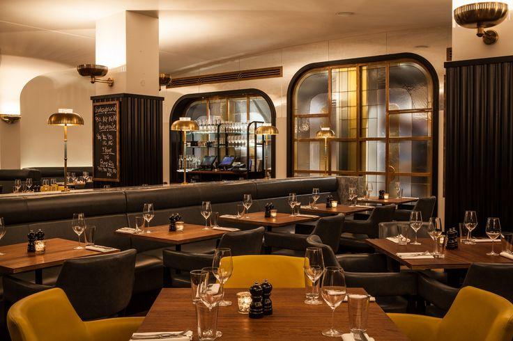 The restaurant interiors - Hawksmoor Knightsbridge #hawksmoor #knightsbridge #London #hawksmoorknightsbridge #steak