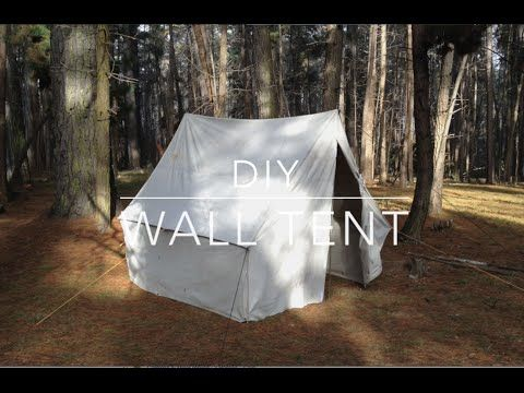 Best 25 wall tent ideas on pinterest canvas wall tent for Homemade wall tent frame