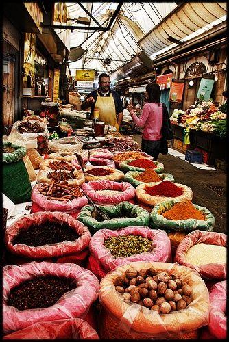 Mahane Yehuda Market, Jerusalem, Israel (December, 2012)