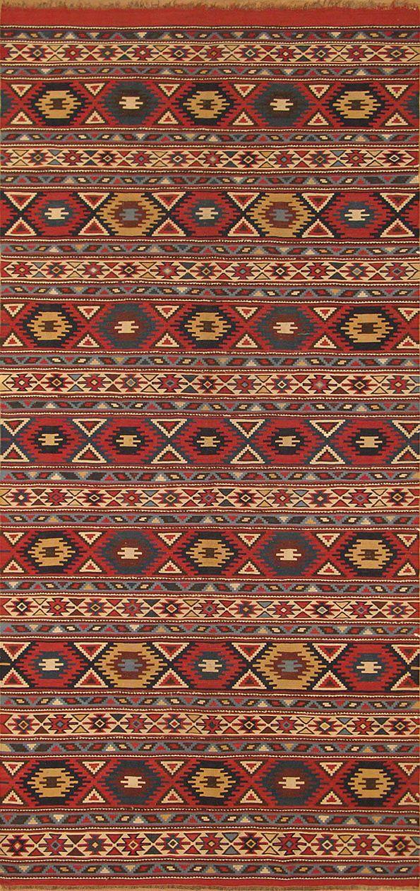 Antique Shirvan kilims Azerbaijan
