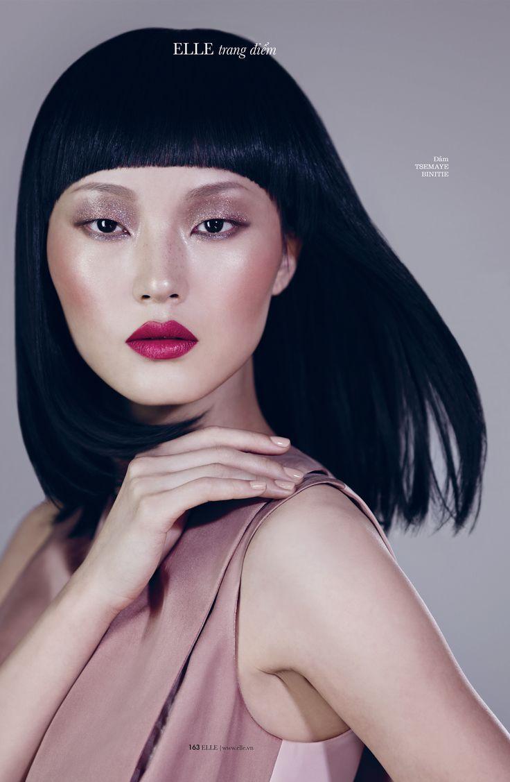 Zhang Xu Chao by Xi Sinsong for Elle Vietnam February 2013.