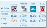 www.itasoftware.com  to find cheapest airfare