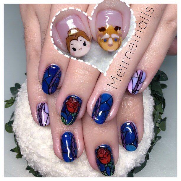 Dress Disney Princess Nails: Best 25+ Belle Nails Ideas On Pinterest