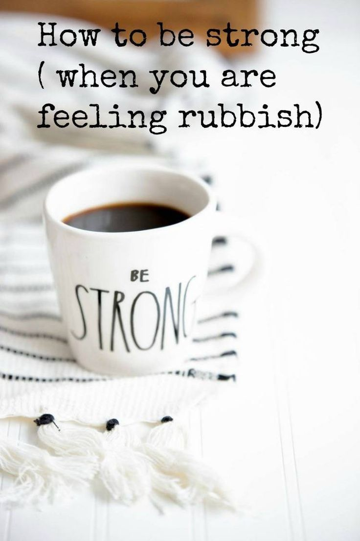 how to be strong when you are feeling weak and how to find your iunner strength to help you cope when life seems all too much #selfhelp #psychology #innerstrength