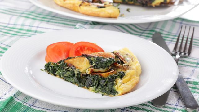 Spinach and Artichoke Frittata | Recipes to Try | Pinterest