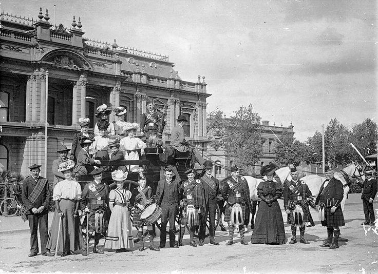 Bendigo, Victoria, Australia. Circa 1895 ... image courtesy of Museum Victoria
