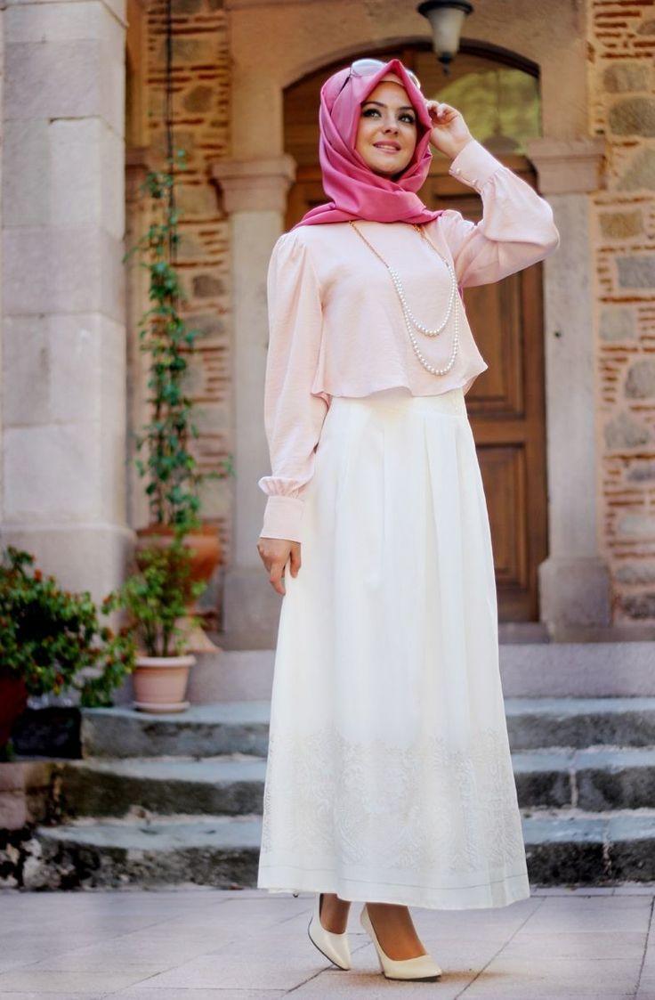Pınar Şems - Pelerinli Gömlek Pudra