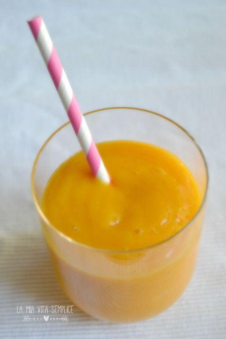 Frullato mango e banana