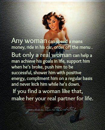 Basics settle....a woman knows her worth and uplift their man