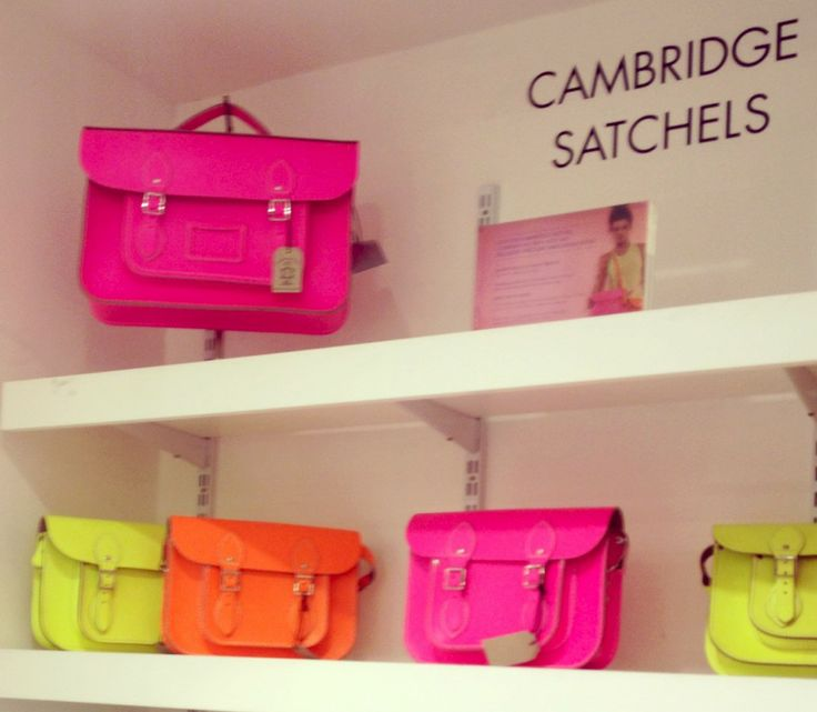 Cambridge Satchels at Harvey Nichols - Lobler and Delaney