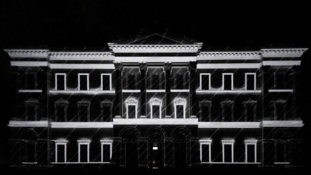 // català  Mapeig arquitectònic audiovisual de l'Associació Cultural Telenoika a la façana del La Villa Tittoni Traversi, en la segona edició del festival Kernel a Desio, Itàlia. 9 min.
