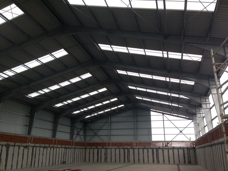 Metallic Hall for Grain Warehouse Sacalaz - Steel Structures Buildings - Duna-steel.ro