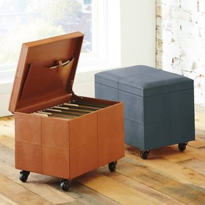 mobile file ottomans the o 39 jays hands and accessories. Black Bedroom Furniture Sets. Home Design Ideas