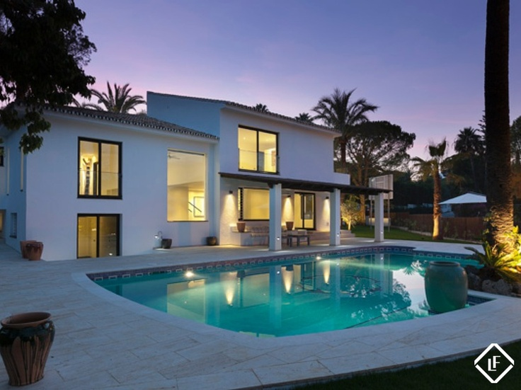 66 best propiedades en venta en marbella images on pinterest luxury real estate luxury villa - Luxury homes marbella ...
