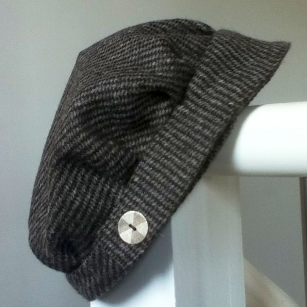 Ardalanish Tweed hat prototype by Warped & Twisted
